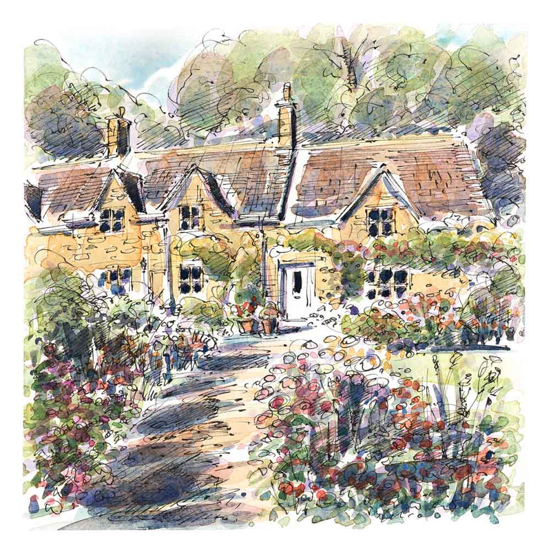 Cotswolds - Set 2 - A  set of 5 Cards from the Cotswold Range