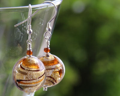 Firefrost Designs - Julietta Topaz Earrings