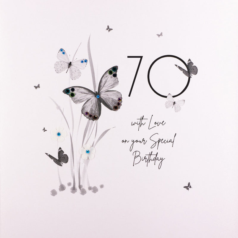 70 With Love on Your Special Birthday - DPL18B