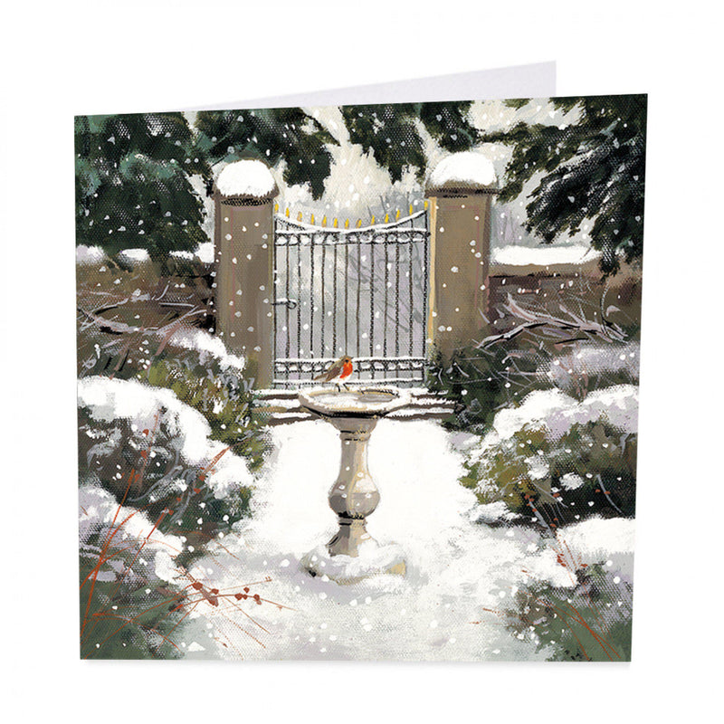 Shelter Charity Christmas Cards (X 6) - Winter Garden