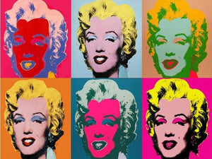 Andy Warhol - Marylin Monroe Paint by numbers