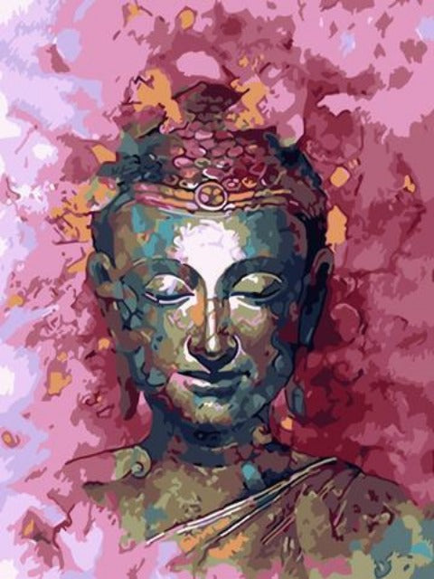 color buddha paint by numbers
