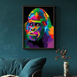 gorilla paint by numbers