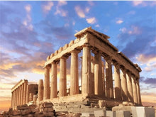 Load image into Gallery viewer, paint by numbers acropolis of athens