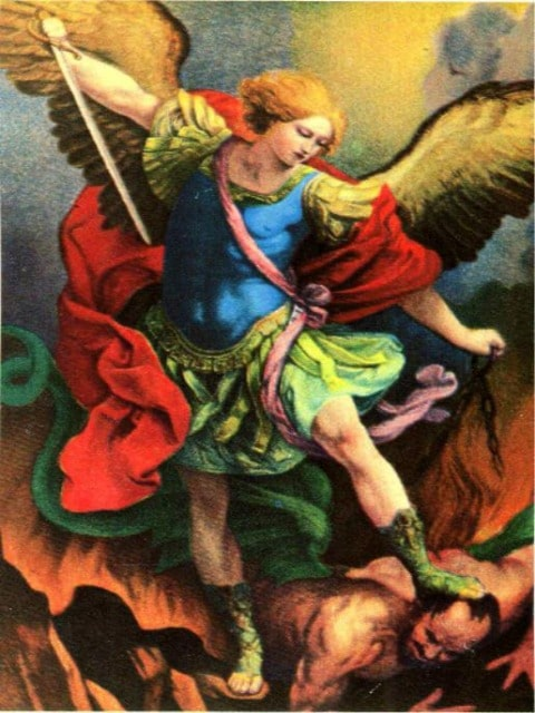 paint by numbers archangel michael