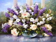 Load image into Gallery viewer, paint by numbers beautiful flowers