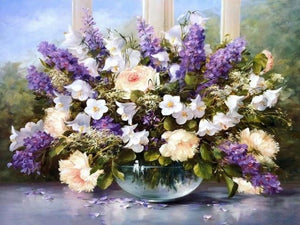 paint by numbers beautiful flowers