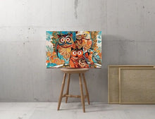 Load image into Gallery viewer, Colorful Owls