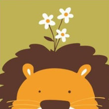 Load image into Gallery viewer, paint by numbers for kids lion kid