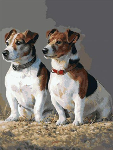 paint by numbers jack russell