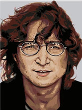 Load image into Gallery viewer, paint by numbers john lennon