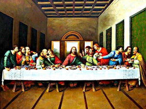 paint by numbers leonardo last supper
