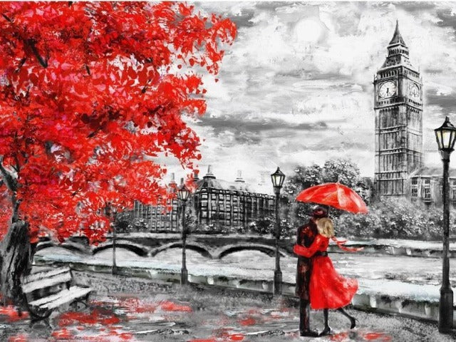 paint by numbers love in london