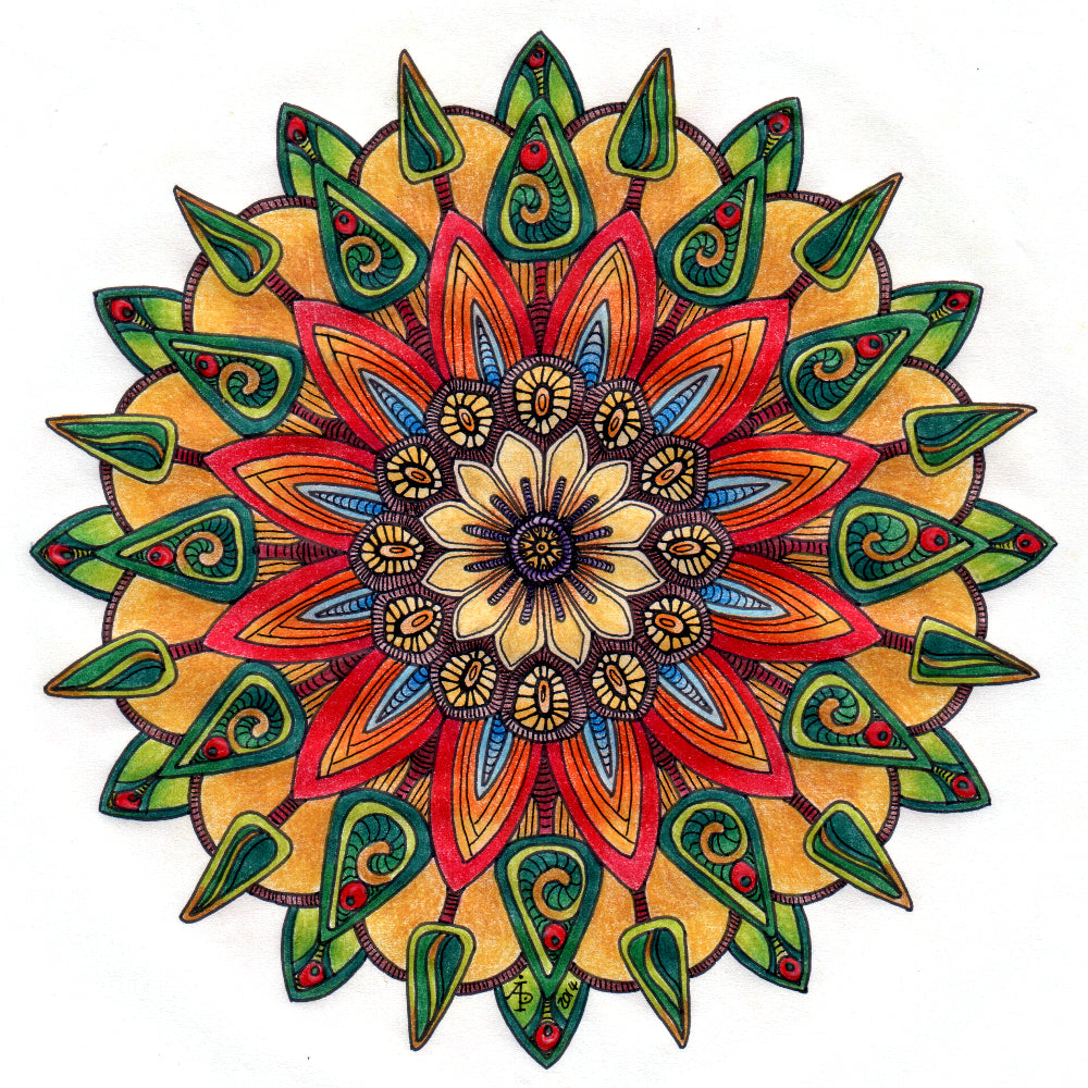 paint by numbers mandala