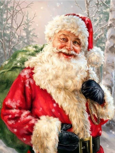 paint by numbers santa claus