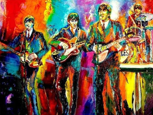paint by numbers the beatles