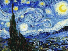 Load image into Gallery viewer, paint by numbers van gogh starry night