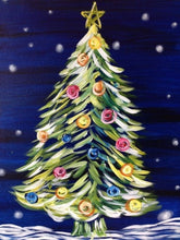 Load image into Gallery viewer, paint by numbers christmas tree