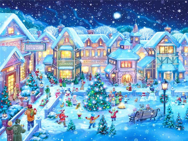 Christmas in the Town