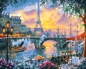 Romantic Paris - Painting by numbers shop