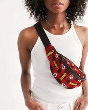 Kansas City Football Crossbody Sling Bag