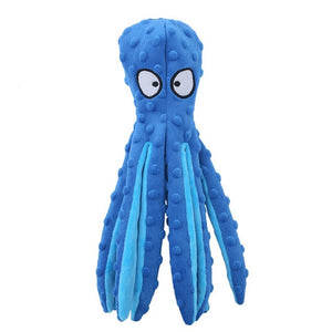 Plush Squeaky Octopus