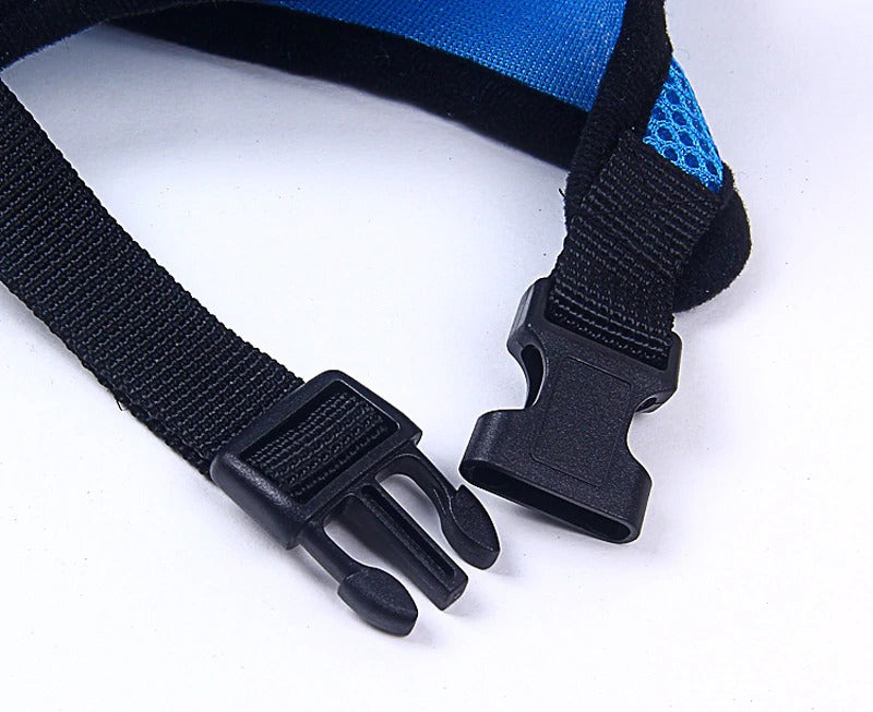 Breathable Harness with Leash