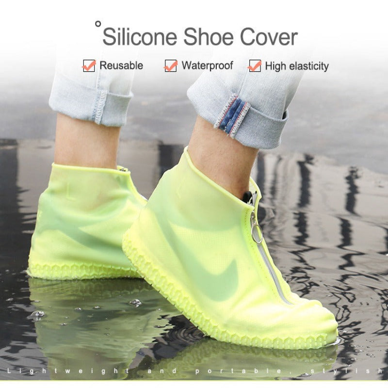 Silicone Shoe Covers with Zip
