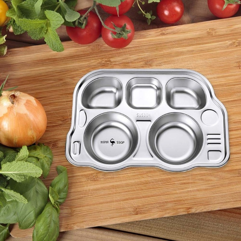 304 Stainless Steel Childrens Plate