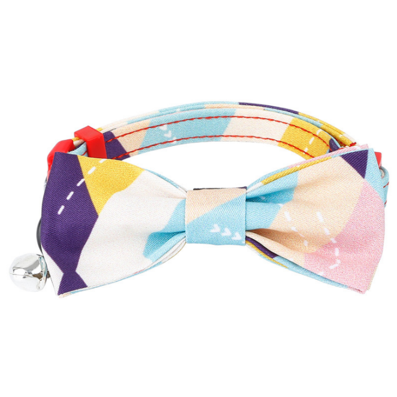 EVERKING Cat Bow Collar with Bell