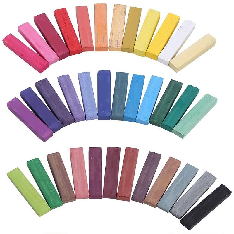 36 Piece Hair Chalk