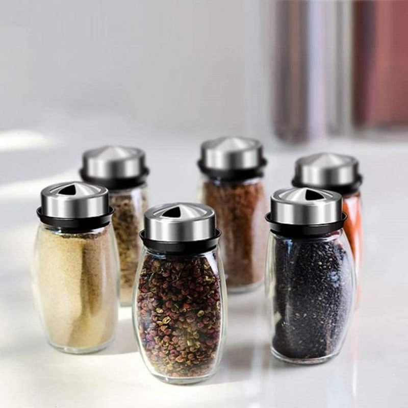 6 Piece Seasoning Jar Set