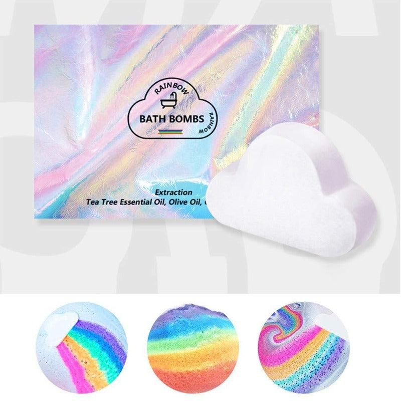 Rainbow Cloud Bath Bomb 180g