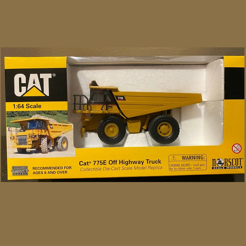 Caterpillar 775E Off Highway Truck Collectable 1/64