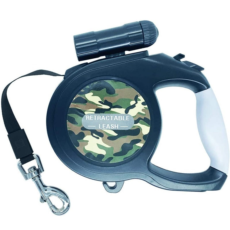 Retractable Dog Lead Camouflage Design