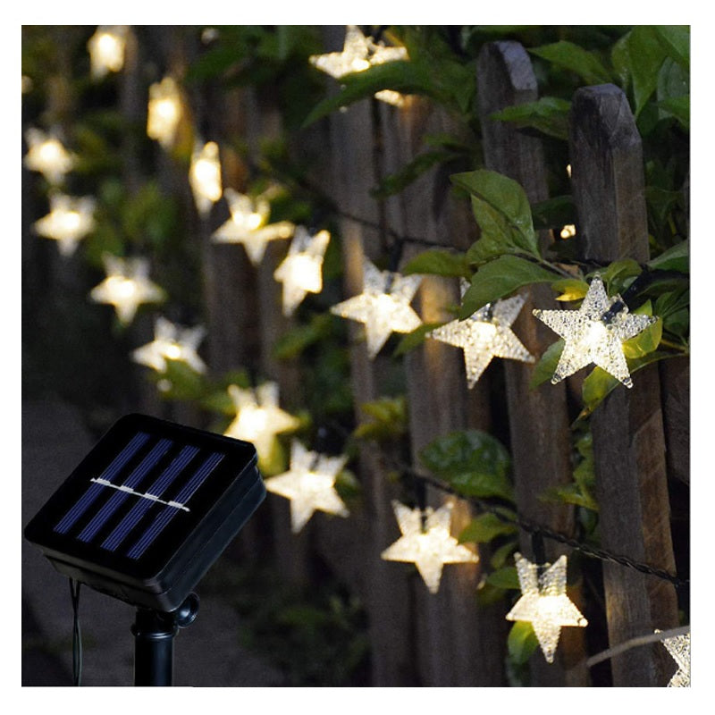 Solar Powered Star Lights 2 Pieces