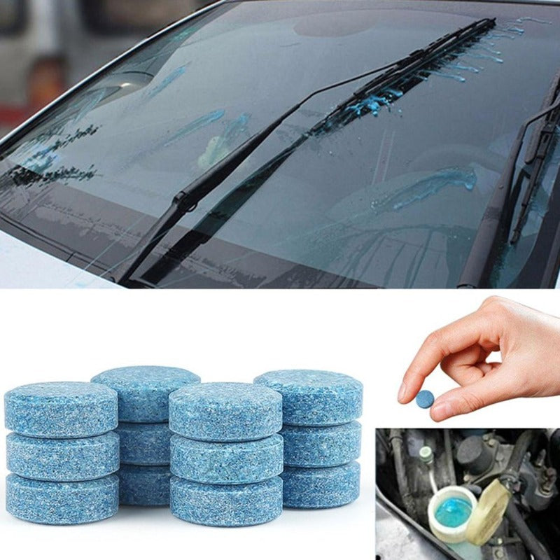 Window Wiper Solution Tablet 10 Pack