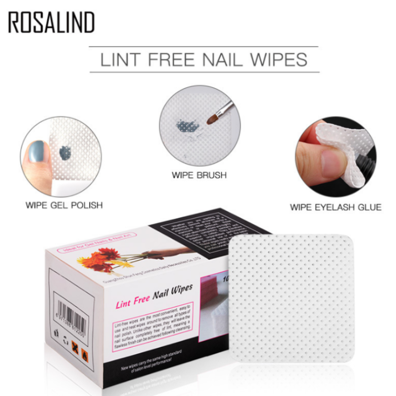 Lint Free Nail Wipes