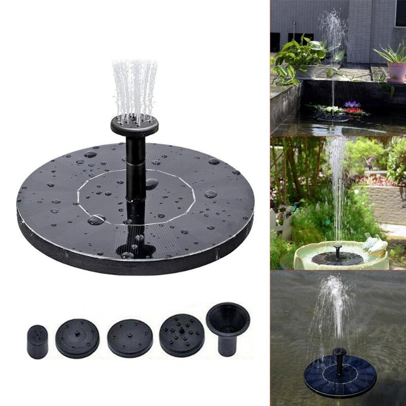 Solar Fountain, Water Pump  AS10A Round
