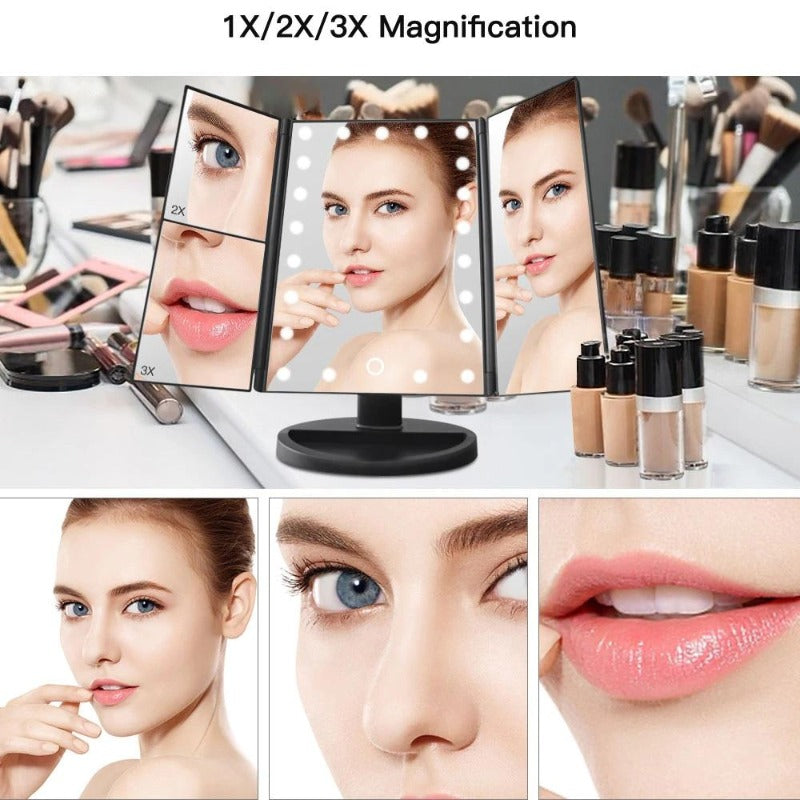 22 Light LED Makeup Mirror
