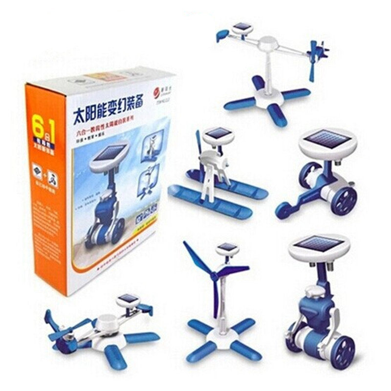 6-in-1 Solar Power Toy Kit