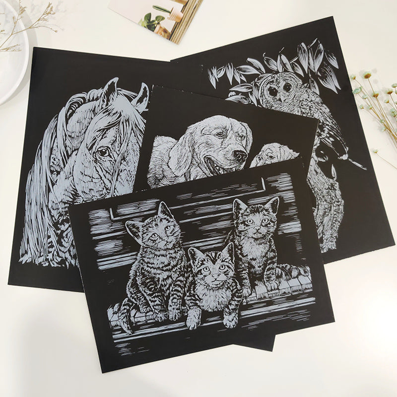 Scratch Art Set