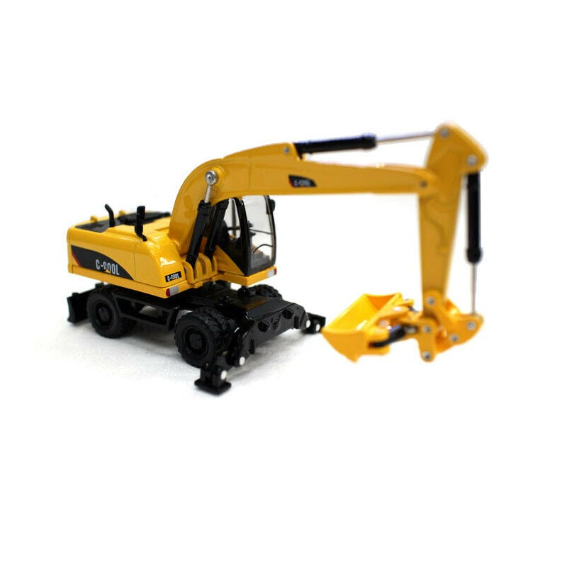 C-Cool Wheel Excavator Collectable 1/64