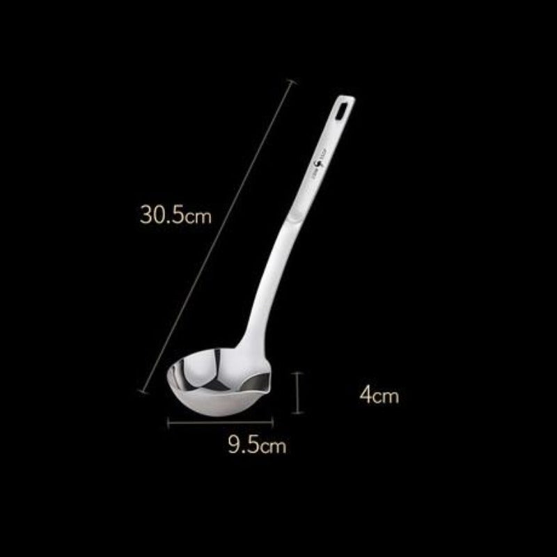 304 Stainless Steel Ladle Spoon with Filter
