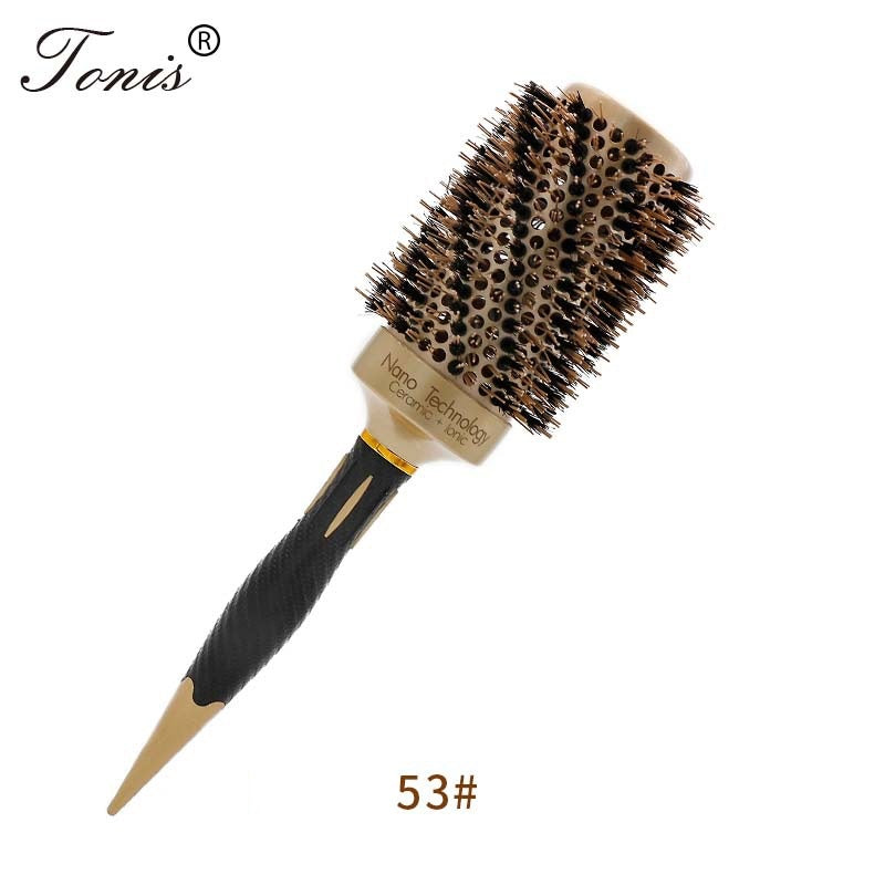 Ceramic Barrel Ionic Hairbrush