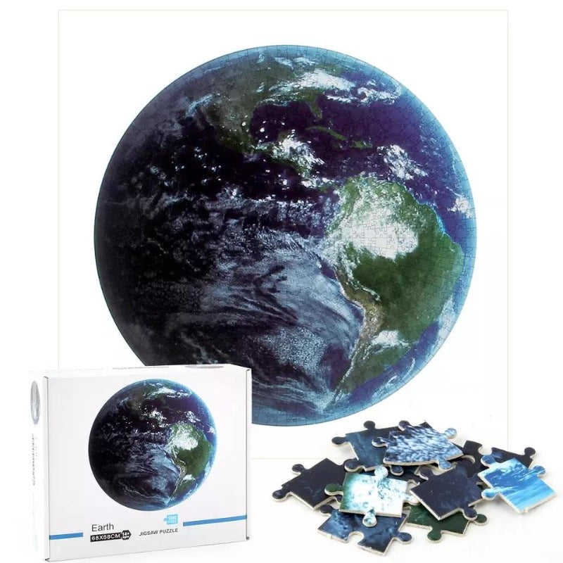 1000 Piece Earth Jigsaw