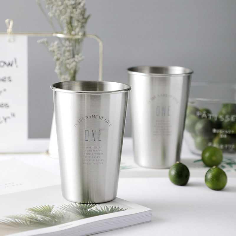 304 Stainless Steel Cup