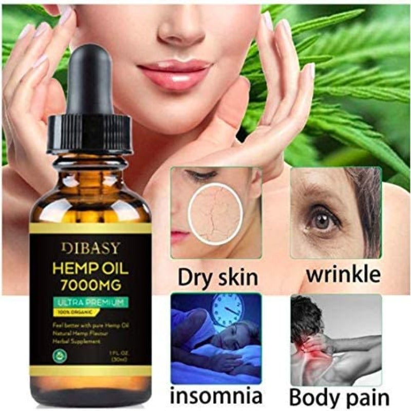 Dibasy Organic Hemp Oil 7000mg