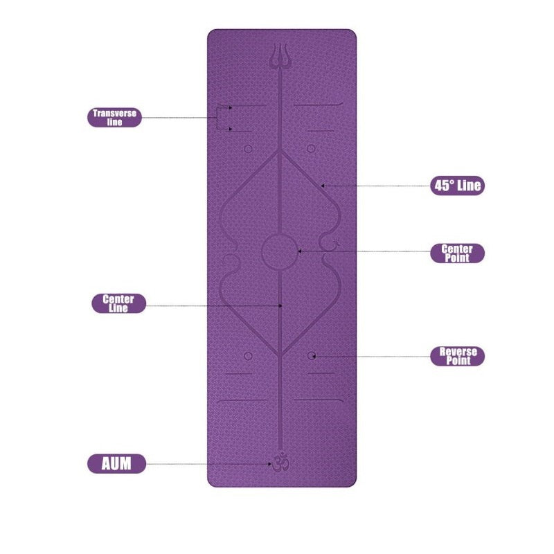 Yoga Mat 6mm Thickness