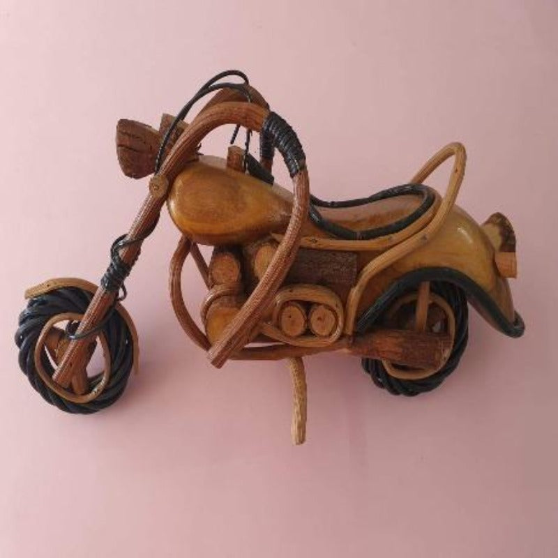 Ornamental Bamboo Motorcycle